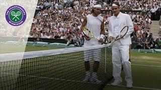Roger Federer vs Rafael Nadal | 2007 Wimbledon Final | Full Match