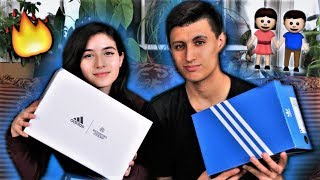 SURPRISING GIRLFRIEND WITH ADIDAS SHOES!!