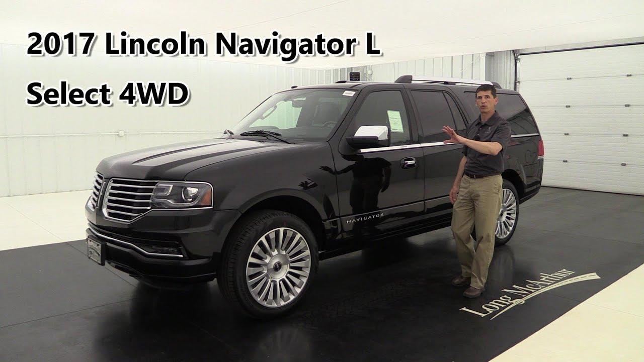 2017 Lincoln Navigator L Select 4wd 17723t