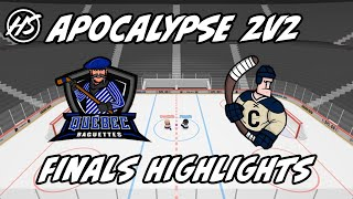 The Apocalypse 2020 Tournament Finals Highlights| The Baguettes vs. The clappers | Slap Shot