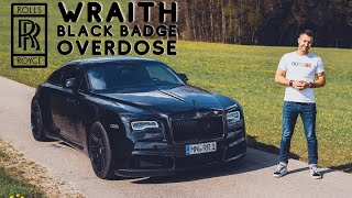 1 of 3 WIDEBODY Rolls Royce Wraith Black Badge with 717hp / The Supercar Diaries