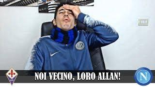 """""""NOI VECINO, LORO ALLAN!"""" Cosa è mancato? Milik dal 1' minuto! Fiorentina-Napoli 0-0 tifoso inter"""
