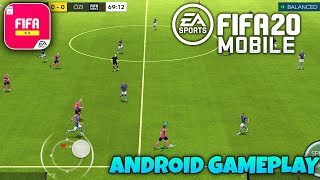 FIFA MOBILE 20 BETA - Android Gameplay