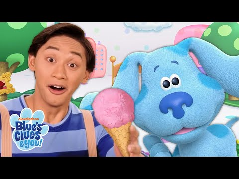 Delivering Ice Cream With Blue and Polka Dots! 🍦 | Blue's Clues & You!