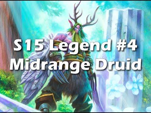 Hearthstone: Midrange Druid - Don't Get Greedy After Work [Season 15 Legend #4]