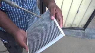 تعلم كيفية تنظيف/تبديل فلتر مكيف هواء الكامري موديل 2014