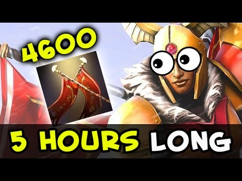 Longest Dota Game — 5 hrs with Legion Commander 4600 Damage