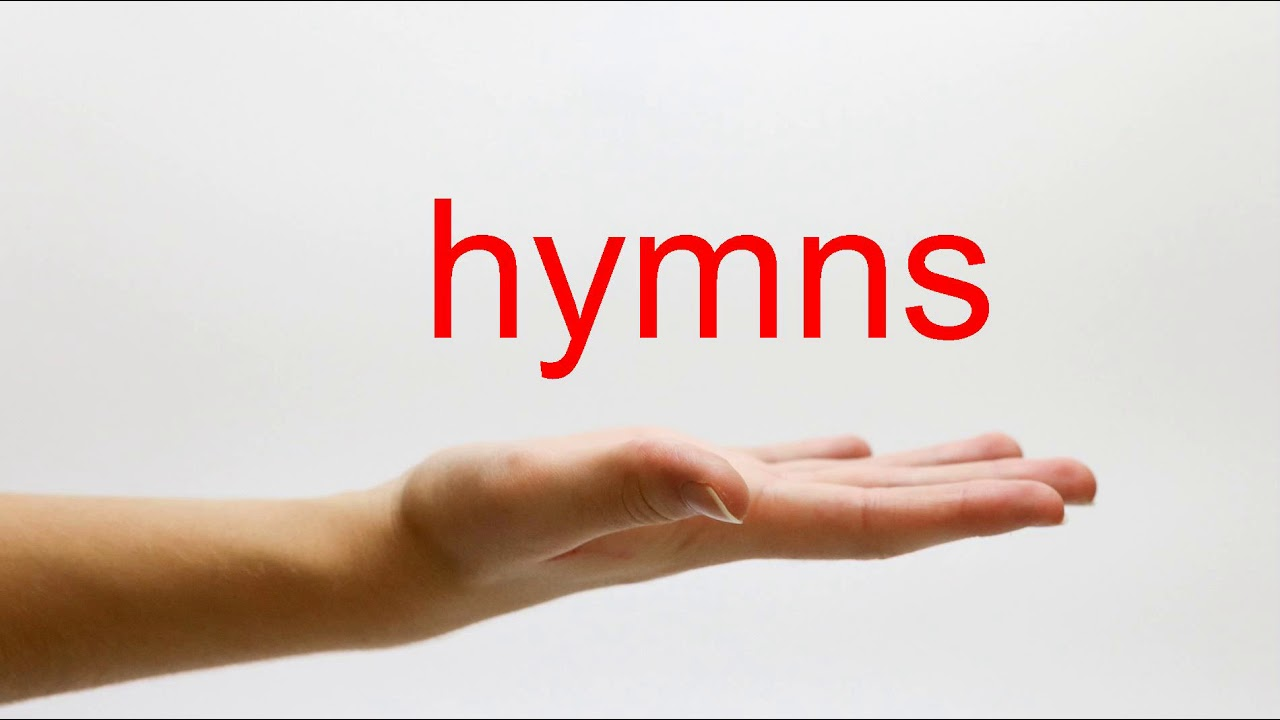 How to Pronounce hymns - American English - YouTube