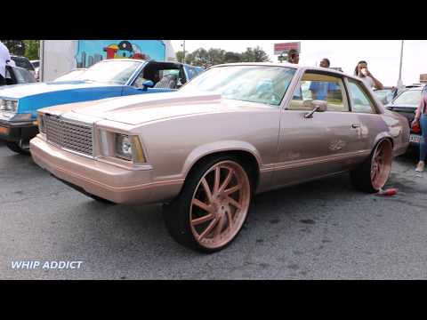 WhipAddict: 80' Chevy Malibu SS on Rose Gold Corleone Forged 24s, Burnouts In the Street