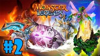 Monster Legends - Isla Edad de los Castillos (Age of Castles) - Eburwin Y Nereida   #2