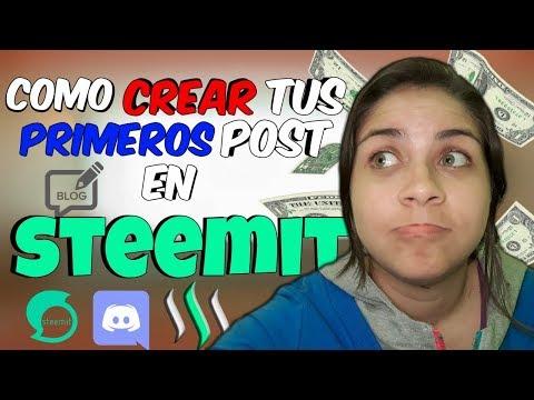 Crear post en steemit + publicarlos en Discord (PASO A PASO)   MAY VIL