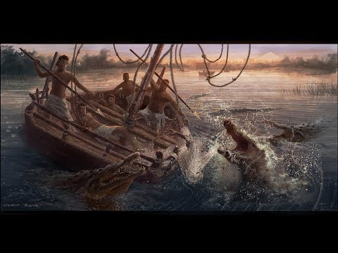 Animal Attack Scene - HD Video 1080p || Exodus Gods And Kings