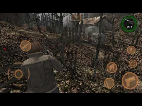 Resident Evil 4 Mobile Edition Latest Update Download For Android/Load-Save Supported,New Game Menu