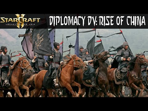 Diplomacy DV: Rise of China - Starcraft 2 Mod