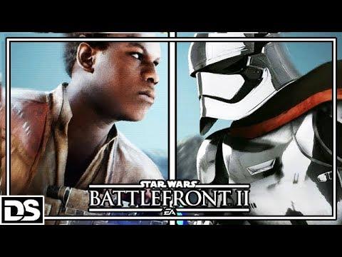 Star Wars Battlefront 2 Deutsch - Die letzten Jedi DLC, Finn & Phasma (Gameplay German)