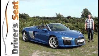 Audi R8 5.2 V10 Spyder 2017 Review | Driver's Seat