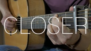 The Chainsmokers - Closer ft. Halsey - Fingerstyle Guitar Cover By James Bartholomew