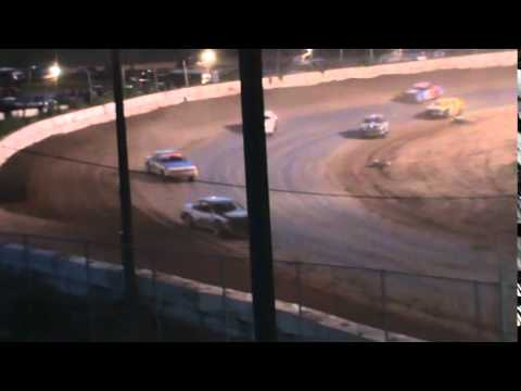 IMCA Stockcar Feature Seymour Speedway 8/16/15