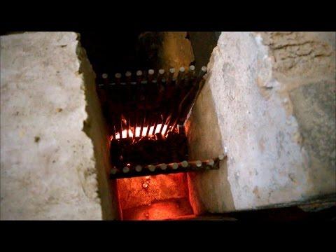 Rocket stove pellet / Печь ракета на пеллетах для отопления гаража.