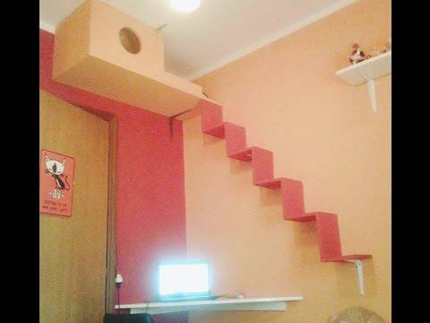 CREATIVE CAT HOUSE! =^_^=