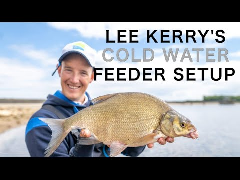 LEE KERRY'S COLD WATER FEEDER FISHING SETUP --- STEP BY STEP FROM THE FISHING ROOM