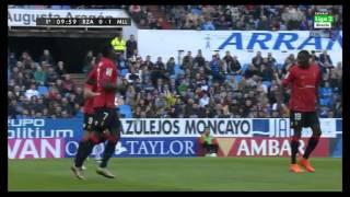 Análisis Gol de Arana en el Real Zaragoza – RCD Mallorca de la Liga Adelante 15/16