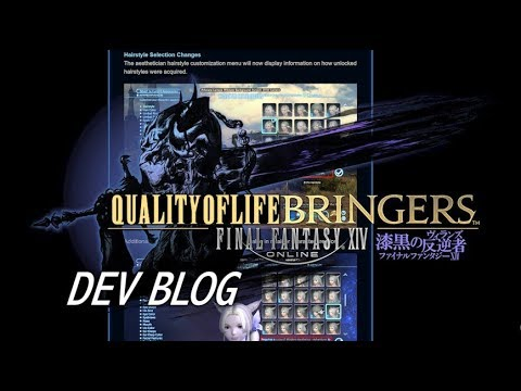 "FFXIV: ""Quality Of Life-Bringers"" - Developer Blog On QoL Changes"