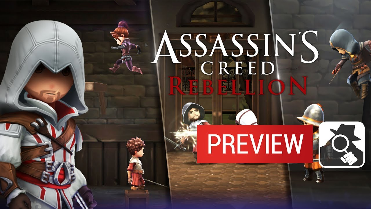 ASSASSIN'S CREED: REBELLION | Soft Launch Preview - YouTube