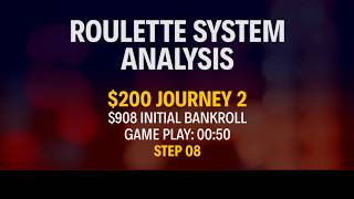 STRATEGY APPLICATION - REAL MONEY - $200 Journey 2 - Part 6