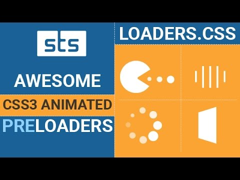 Add CSS Preloader Using Loader css - CSS3 Loading Screen Animation with  Loader CSS