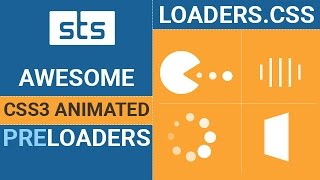 Add CSS Preloader Using Loader.css - CSS3 Loading Screen Animation with Loader CSS