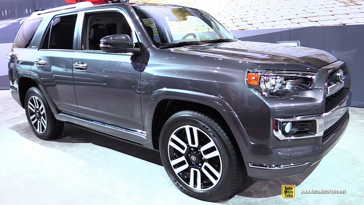 2015 toyota 4runner limited exterior and interior wal doovi. Black Bedroom Furniture Sets. Home Design Ideas