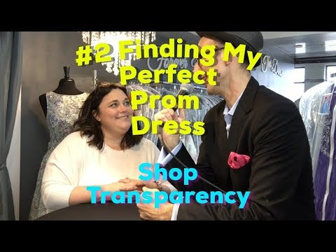 #2 Finding My Perfect Prom Dress   Shop Transparency