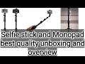 Yunteng selfie stick cum tripod unboxing and review