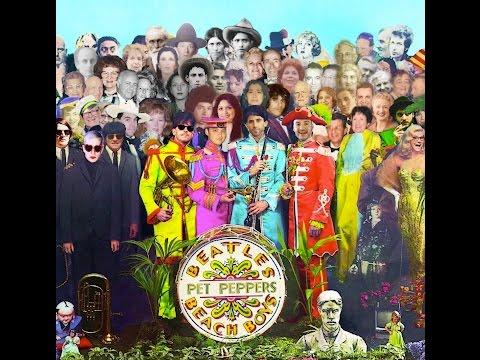 Sgt Peppers meets Pet Sounds Pet Peppers Full Album - Beatles Beach Boys Medley Mashup