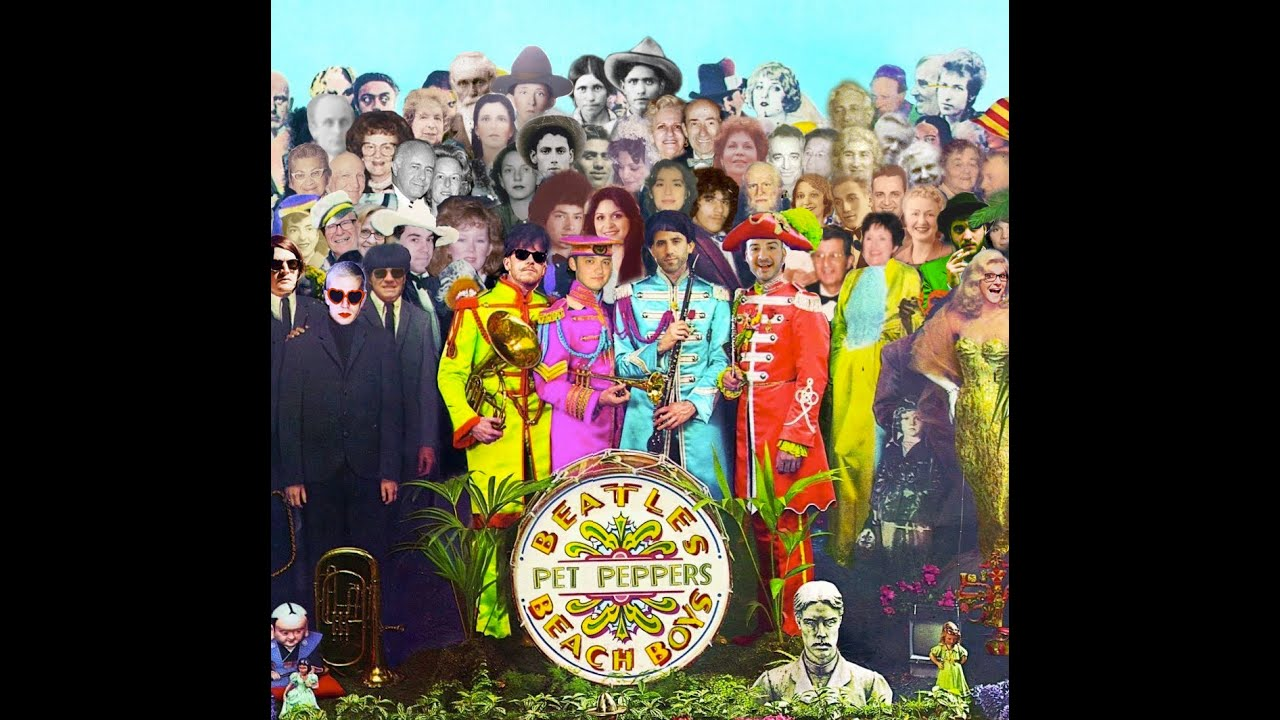 sgt peppers meets pet sounds pet peppers full album beatles beach boys medley mashup youtube. Black Bedroom Furniture Sets. Home Design Ideas