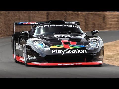 1997 Porsche 911 GT1 Evolution - Accelerations & Turbo Sounds!