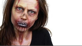 Halloween Zombie Face Paint Tutorial | Snazaroo