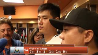 Wei-Yin Chen -- Miami Marlins at New York Mets 07/05/2016