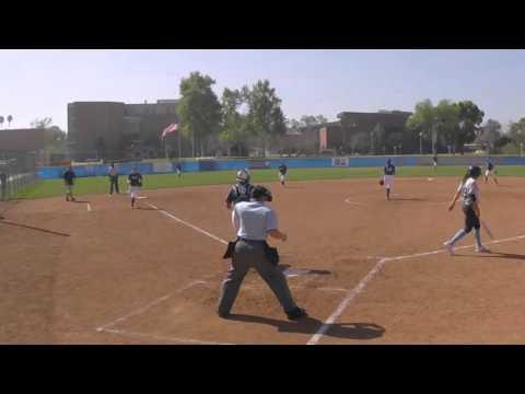 Lauren Berriatua No-hitter vs St. Peter 2-27-16