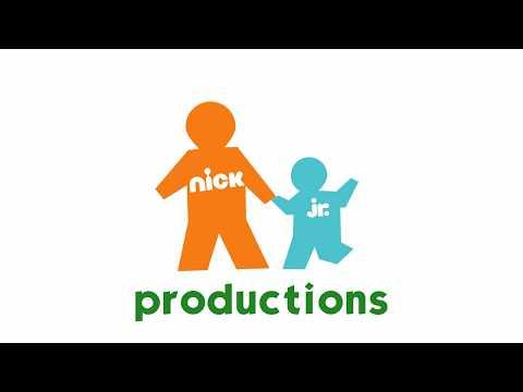 Nick Jr  Productions logo (retro recreation)
