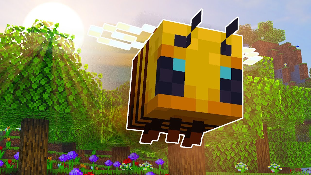 Everything About the Bee in Minecraft 1 15 YouTube