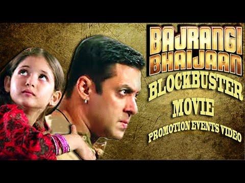 Bajrangi Bhaijaan (2015) │Salman Khan, Kareena Kapoor │Movie Promotional Events Full Video