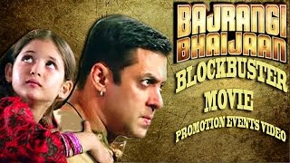 The video is a full pack of all promotional events like bajrangi bhaijaan poster launch, teaser and trailer music...