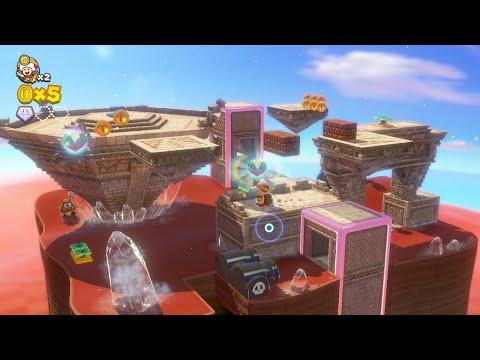 captain-toad:-treasure-tracker---sand-kingdom-gameplay