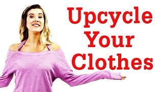 Upcycle Your Clothes With Meghan + Ootd! #17daily