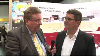 VideoNEWS Channel Photokina 2014: Transcend SD Cards Datensicherheit