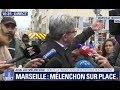 Marseille : 3 immeubles s'effondrent, JL Mélenchon se rend sur place