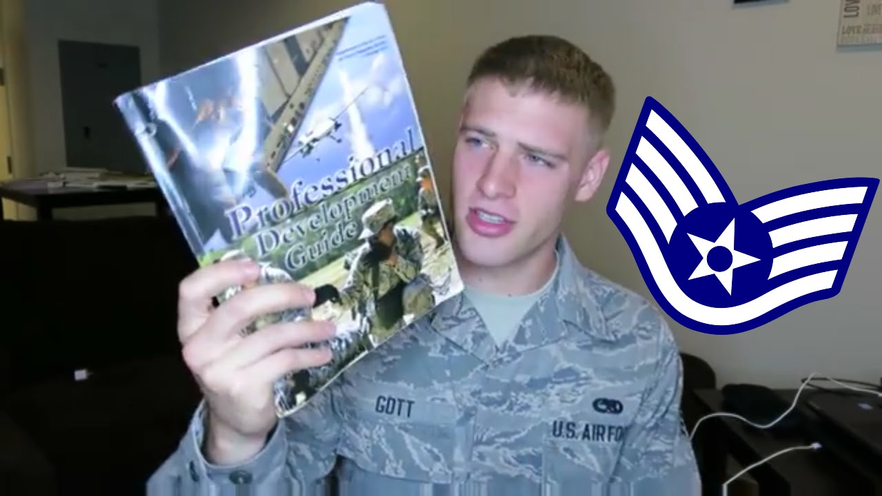 AIR FORCE WAPS TESTING FOR STAFF SERGEANT - YouTube