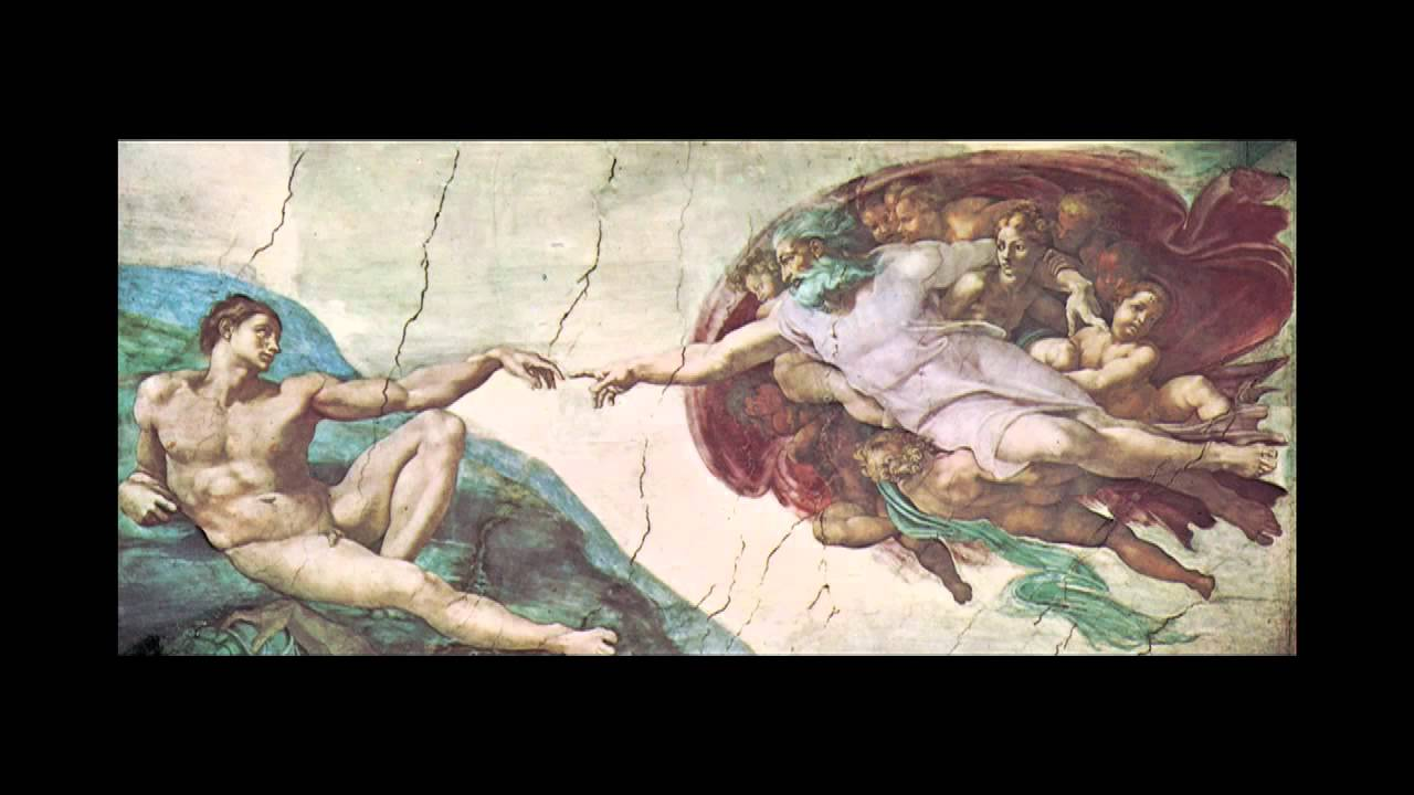 The Creation of Adam by Michelangelo - YouTube